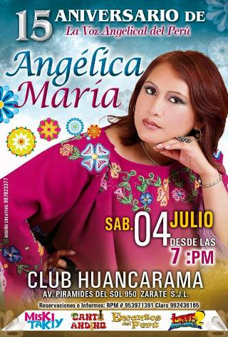 Aniversario de Angelica Maria