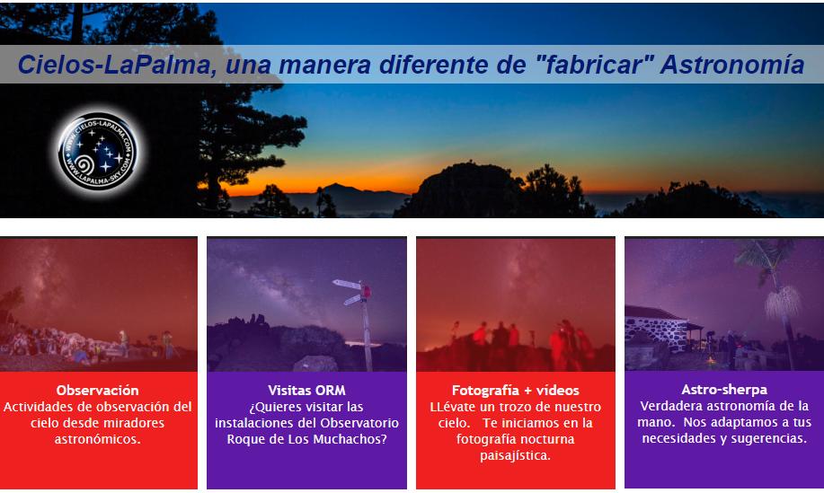 Cielos-La Palma