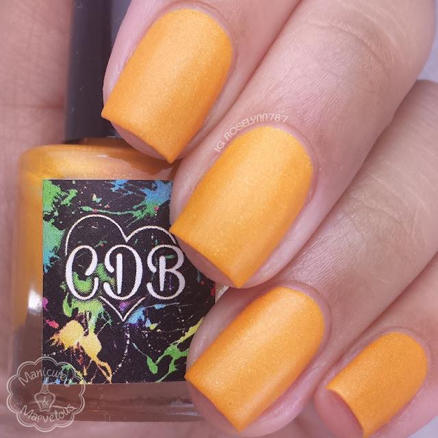 CDB Lacquer - Somber Orange