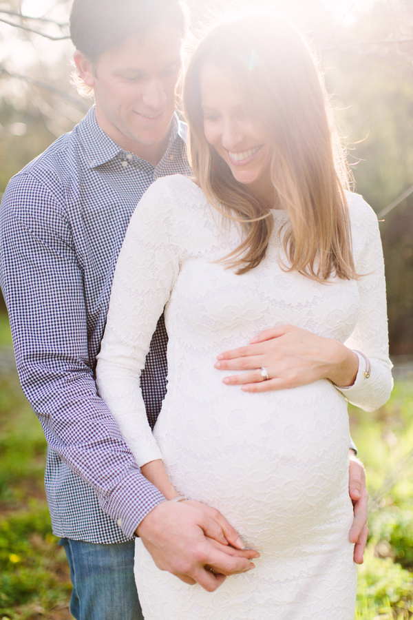 Maternity photos in Los Altos, California