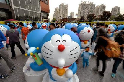 Pameran Mengenang 45 Tahun Doraemon di China