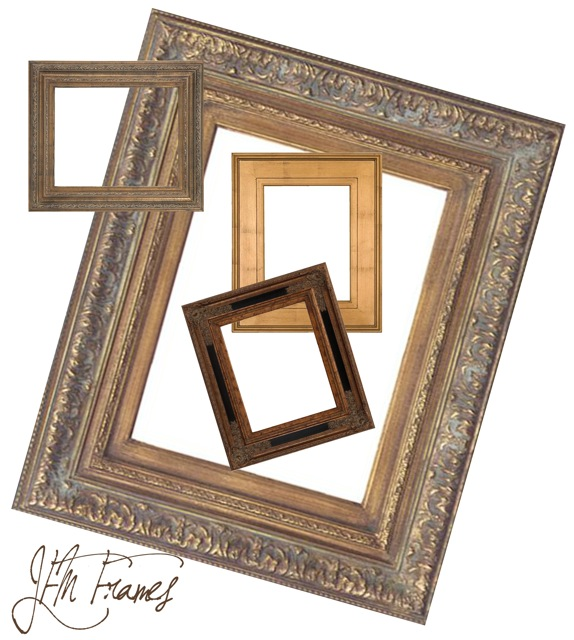 Ready Made Frames : Karin wells studio some of my favorite ready made frames