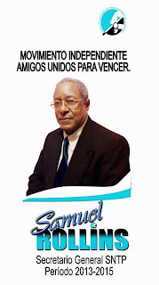 Samuel Rollins Acosta a la presidencia del SNTP