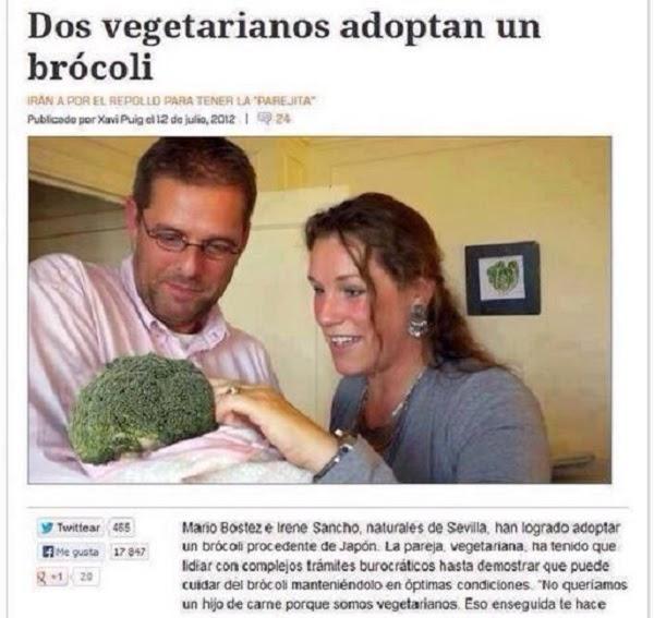 Los vegetarianos son tan buenos