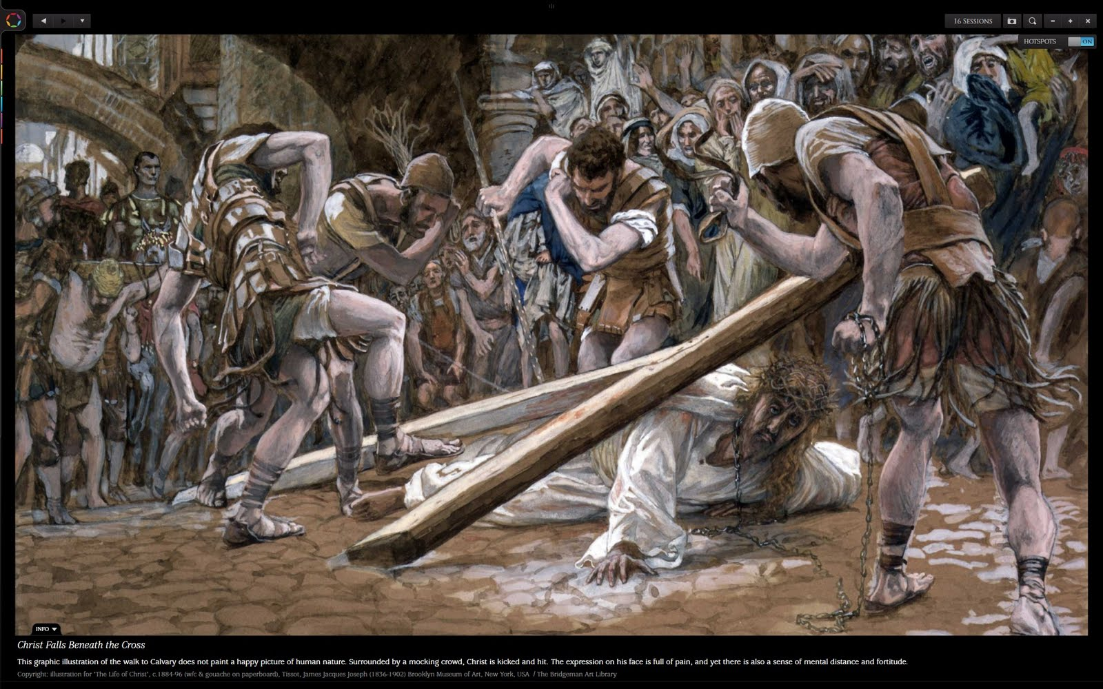 Jesus Carrying His Cross