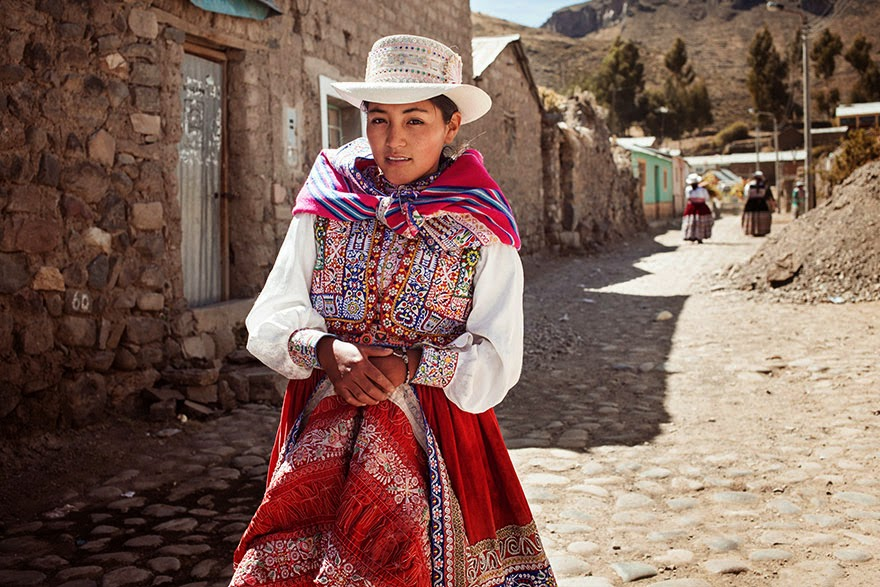 Colca Valley, Peru - I Photographed Women From 37 Countries To Show That Beauty Is Everywhere