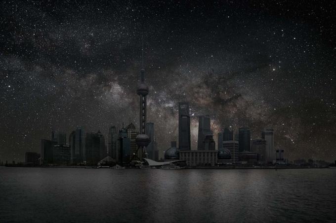фото Темный город Thierry Cohen