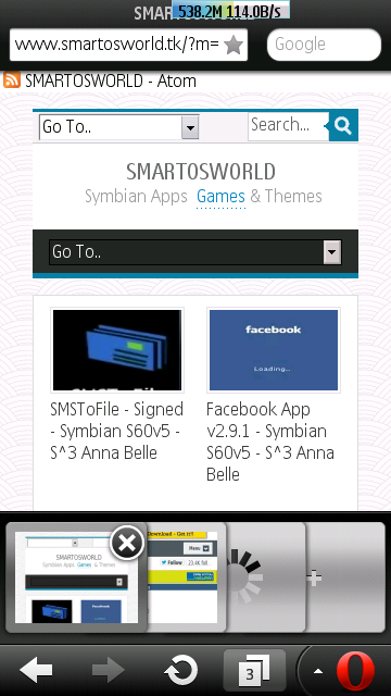 mini browser for symbian s60 v5 hd games free