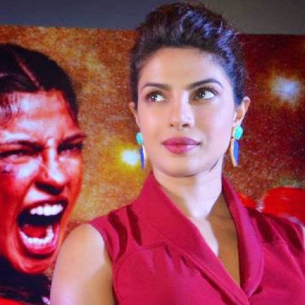 Priyanka Chopra promotes Mary Kom at Lucknow