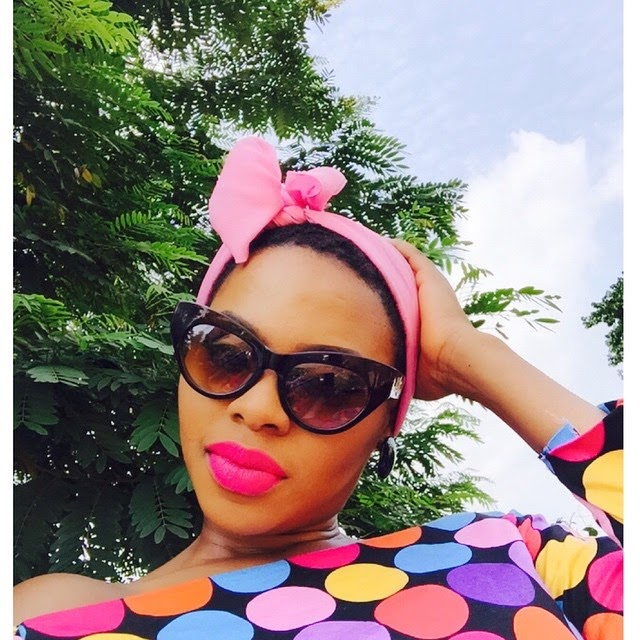 HOT: Chidinma looking very colourful in new pics 1