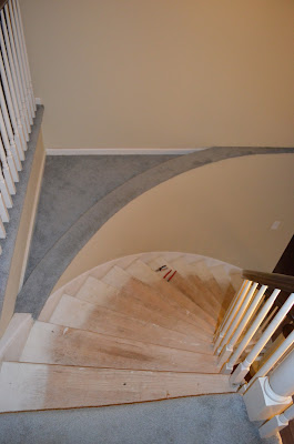 Smart Girls DIY circular staircase - before
