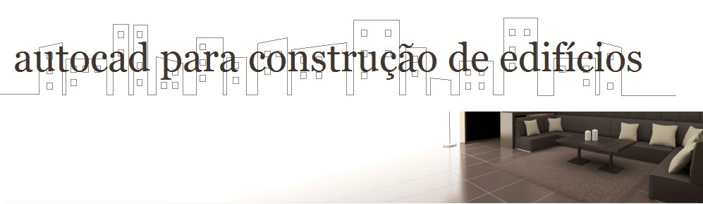 autocad para construo de edifcios