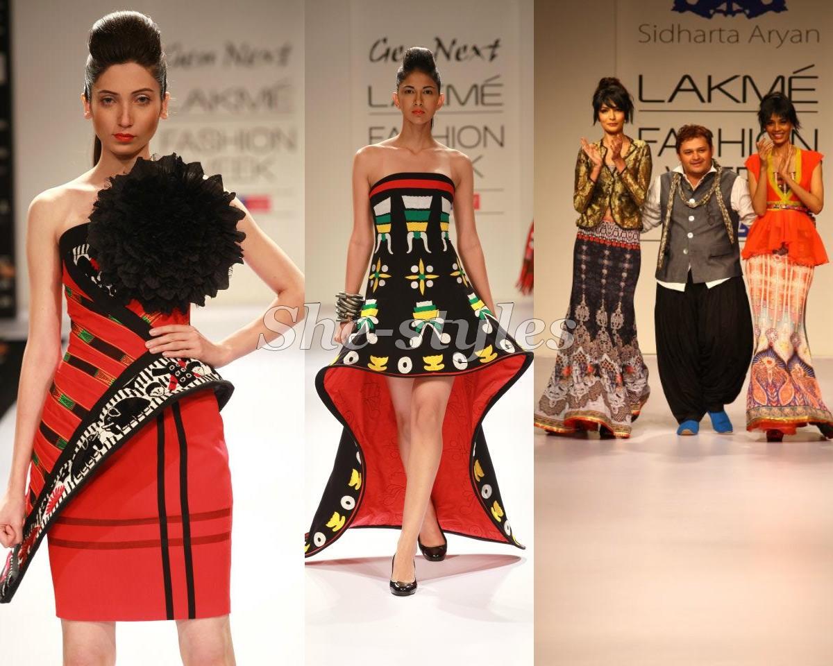 Fashion style Kochhar Archana collection lakme fashion winter festive for lady