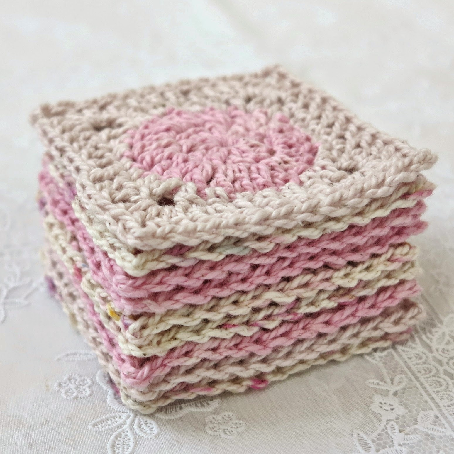 byHaafner, crochet, scarf, wip, MoYa, pastel