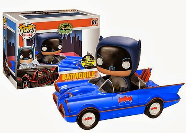 01.- Batmovil azul Funko Pop!