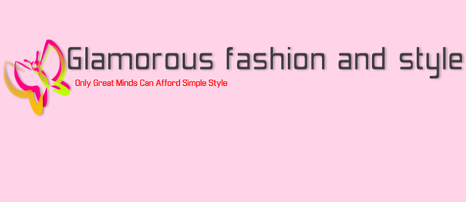 Glamorous fashion and style