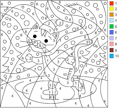 Search Results For Color By Number Multiplication Winter