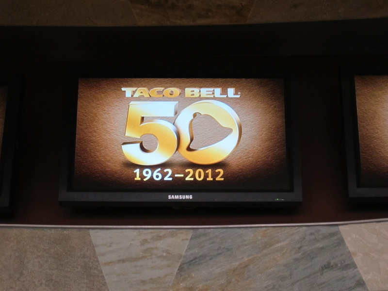 taco bell 50th anniversary