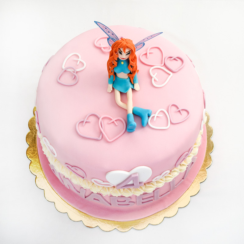 Winx Bloom cake top