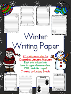 http://www.teacherspayteachers.com/Product/Winter-Writing-Paper-965668
