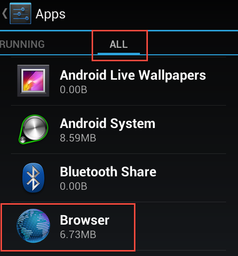 full Android Browser