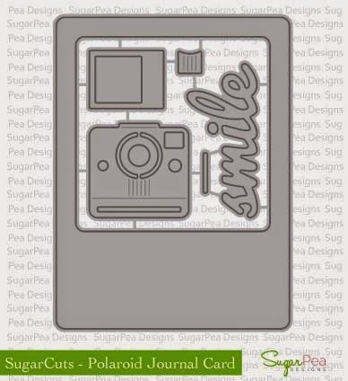 SugarCuts Polaroid Journal Card