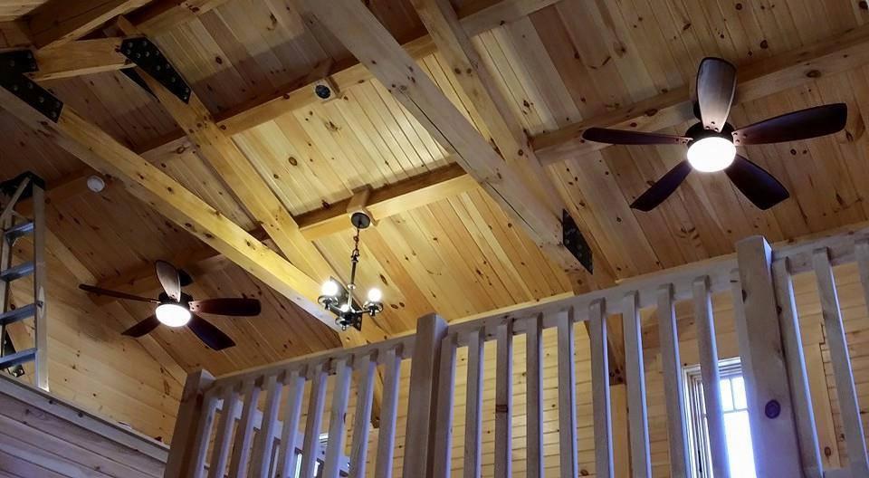 Casas de madera natural techos a doble altura - Casas de madera natural ...