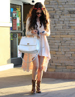 Selena Gomez  Lunch At Kabuki with a friend in Encino