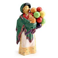 Balloon Lady Figurine3