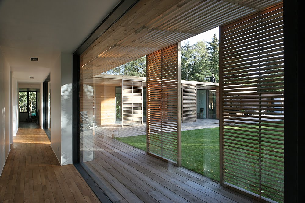 One Storey Courtyard House Sweden Most Beautiful Houses