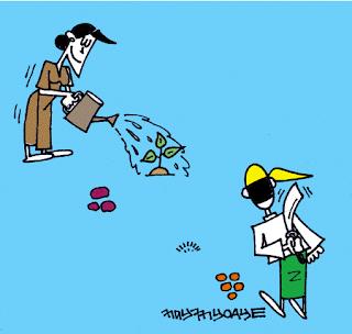 Cartoon Nay Myo Aye – Election Watch Dog