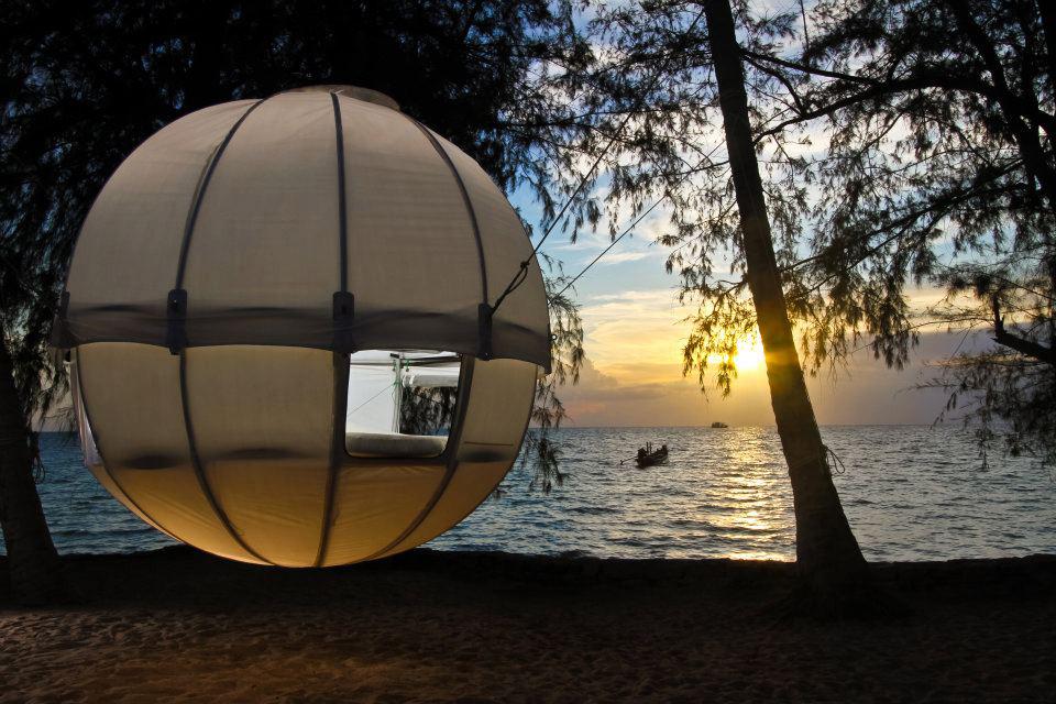 Luxury Life Design: Cocoon Tree Luxury Tent