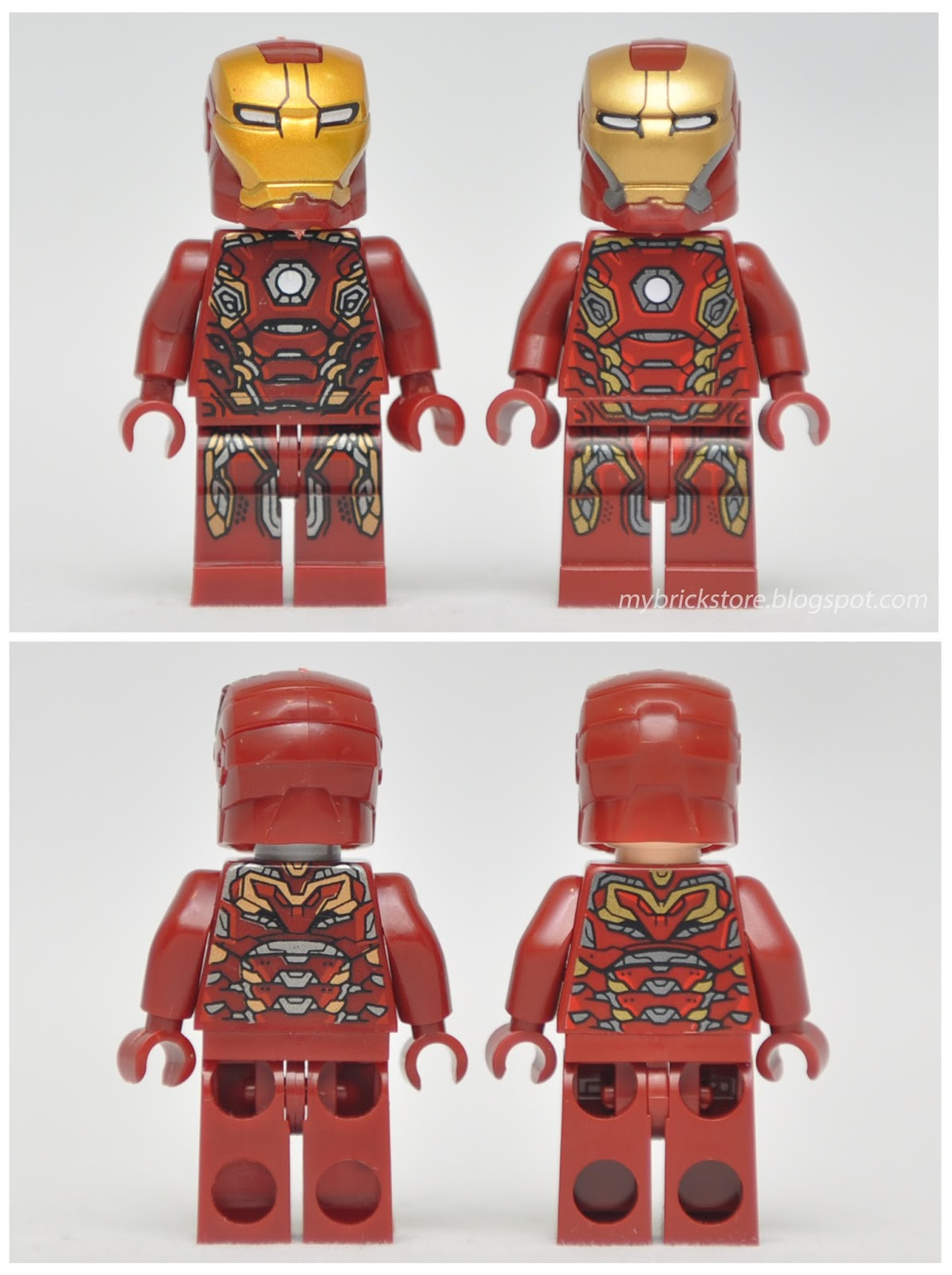 My brick store lego iron man minifigures by duo le pin - Lego iron man 3 ...