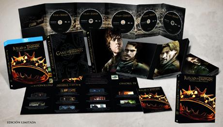 Juego de Tronos 2ª temporada Blu-ray, edición coleccionistas