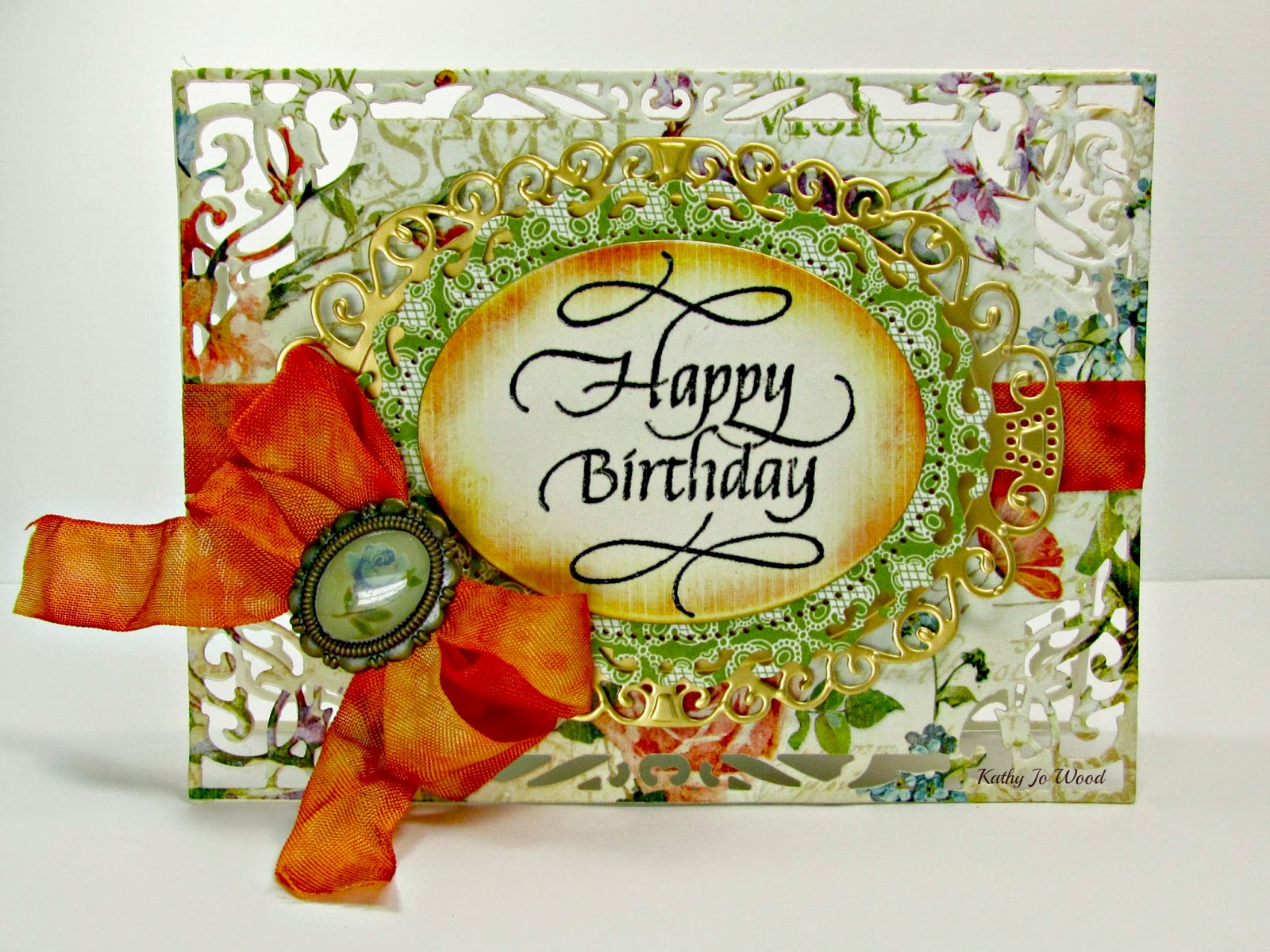 Quietfire creations one happy birthday card and two thank you cards the m4hsunfo