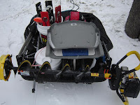 Snowmobile Ice Auger Carrier4