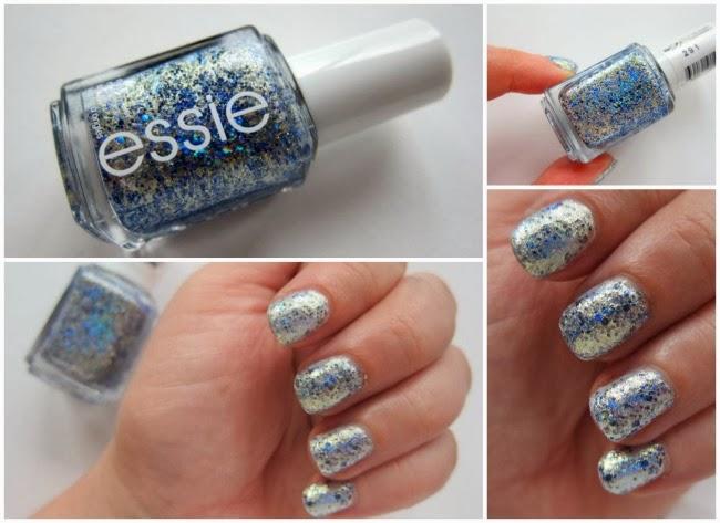 Silver nail polish essie