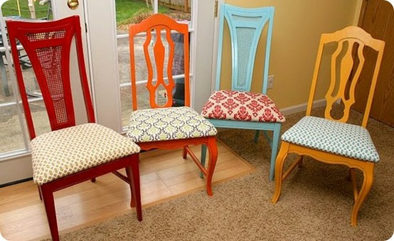 And I Think My Whole Love Of Mismatched Chairs Started With TheseI Completely Adore The Idea Taking Different Making Them A Set
