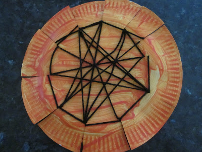 Paper Plate Spider Web & Paper Plate Spider Web | Munchkins and Mayhem