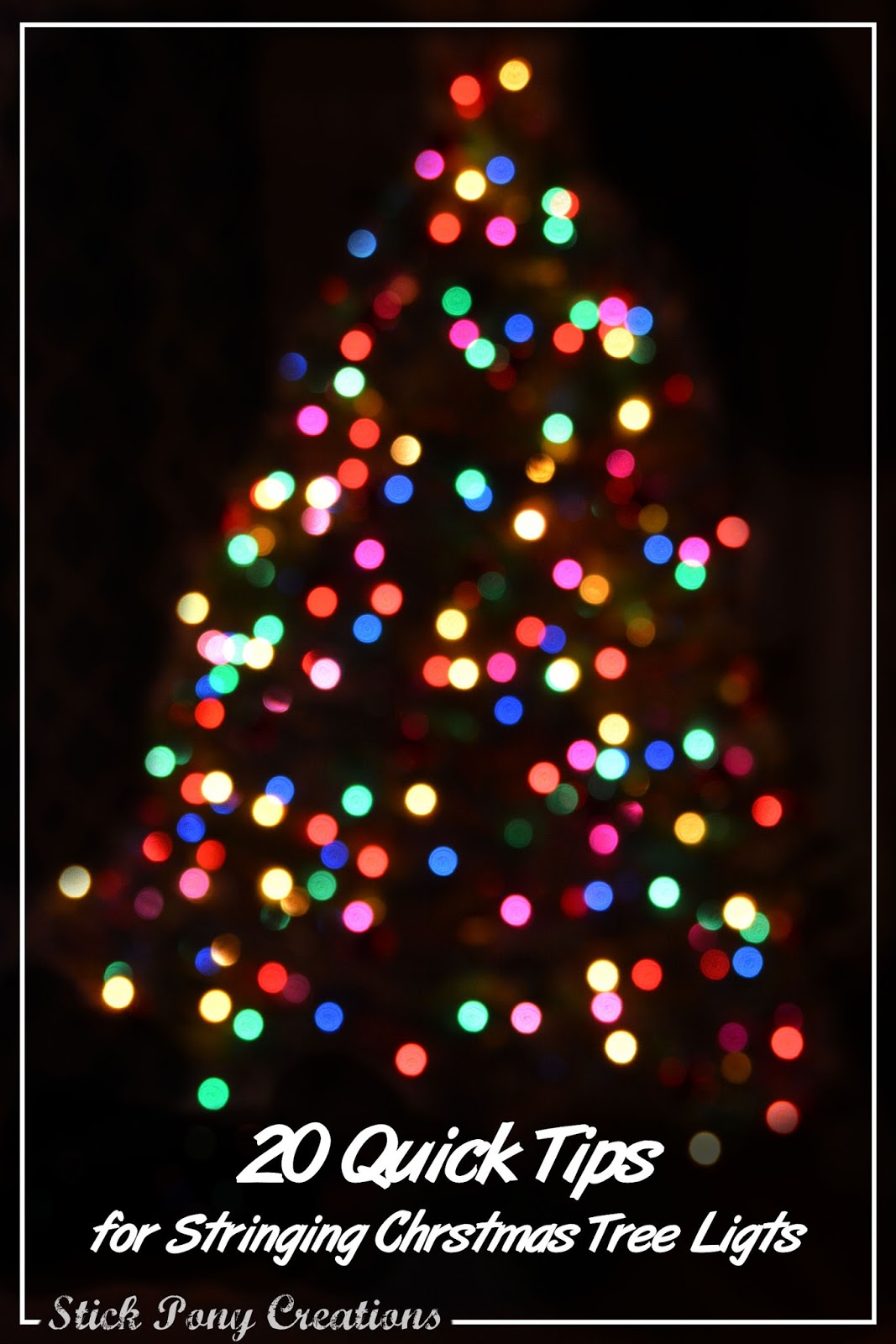 20 things you should know before you put lights on your christmas tree tistheseason - Best Way To Put Christmas Lights On Tree