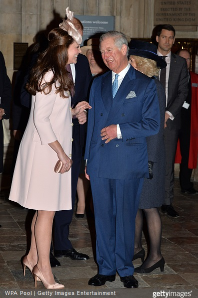 Catherine, Duchess of Cambridge and Prince Charles, Prince of Wales attend the Observance for Commonwealth Day Service At Westminster Abbey