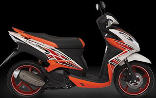 Yamaha New Xeon RC Warna Putih (Cosmic White)