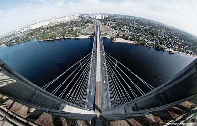 skywalking-fisheye-lens puente en rusia
