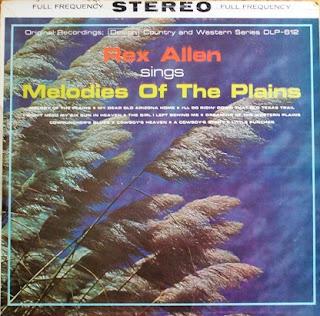 Rex Allen - Sings Melodies of the Plains (1962)