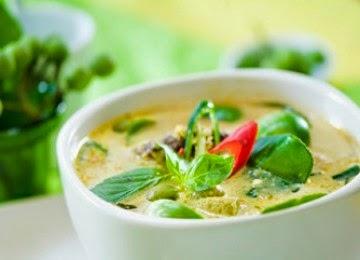 Resep Masakan Kari Hijau Thailand