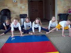 The splits!