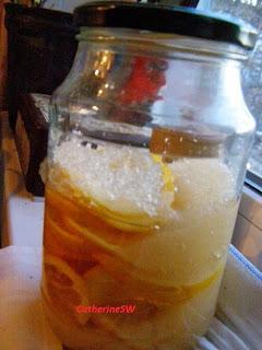Батончики с лимонной начинкой