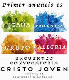 Encuentro CRISTO JOVEN. 18 de Abril
