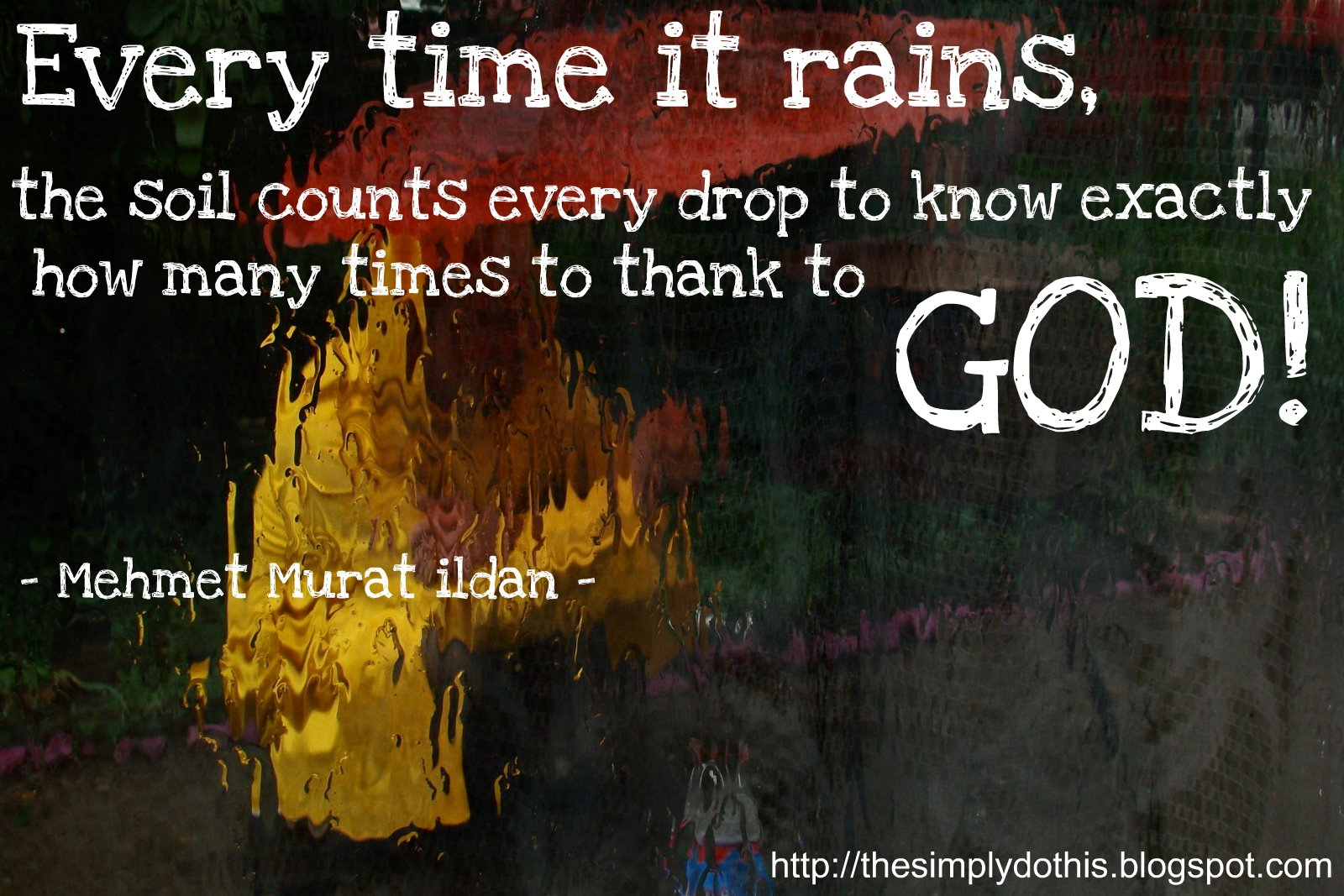 Thanking God Quotes Simply Do This. Daily Inspiration Quote.