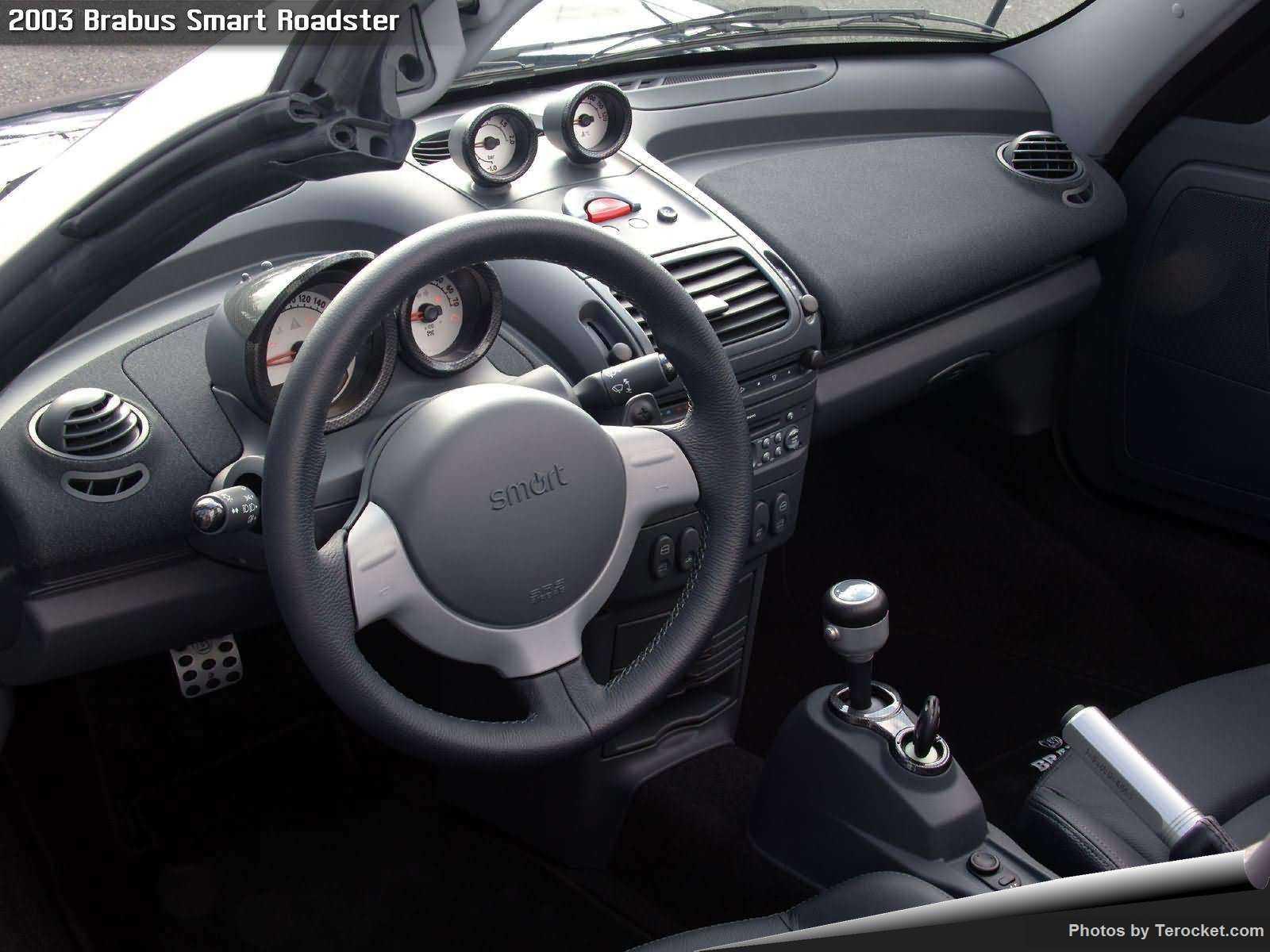 Hình ảnh xe ô tô Brabus Smart Roadster 2003 & nội ngoại thất